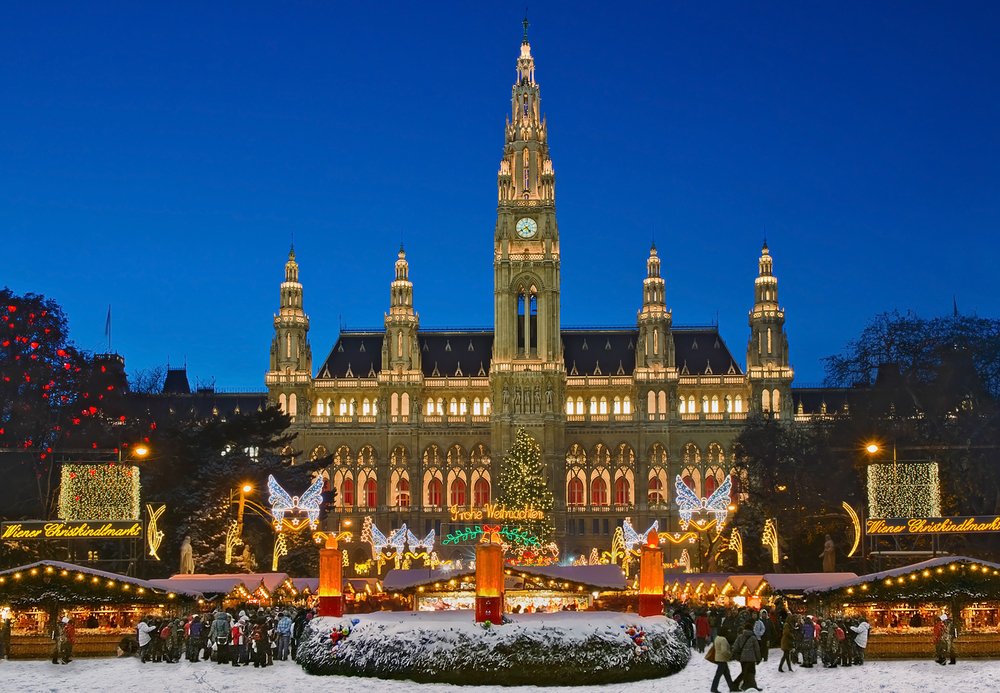 Vienna during Christams season