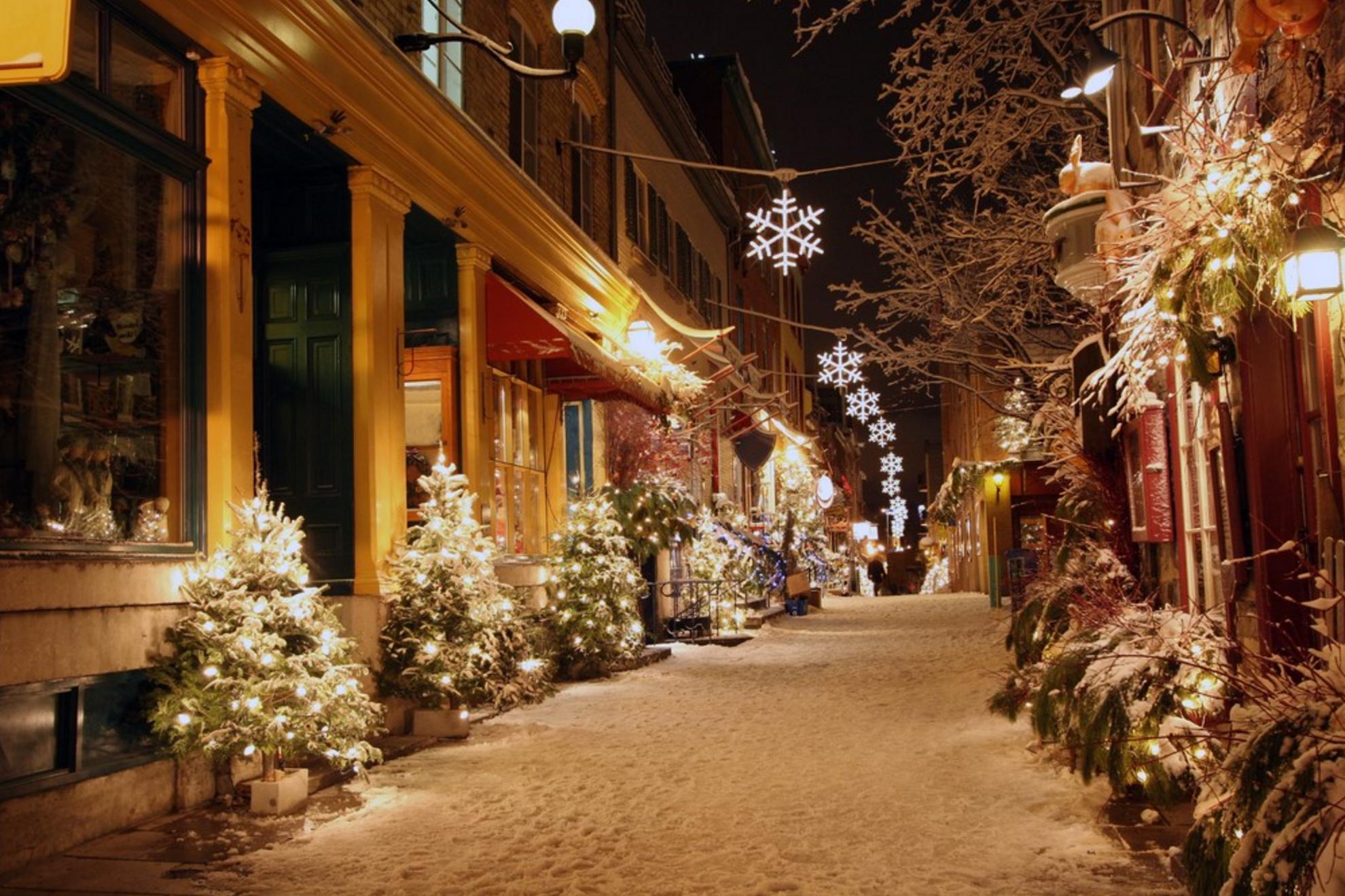 quebec christmas markets